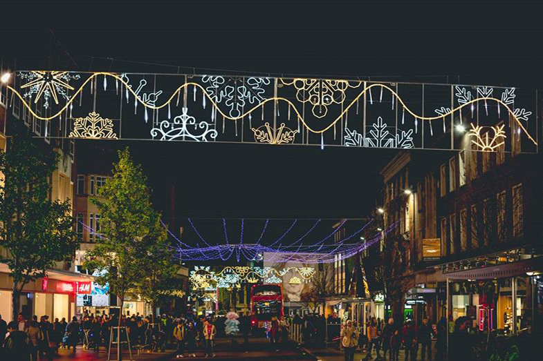 Exeter Christmas Lights Switch On