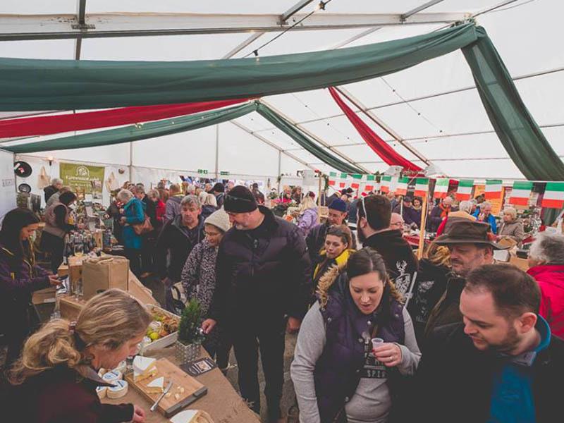 Fowey Christmas Market 2018