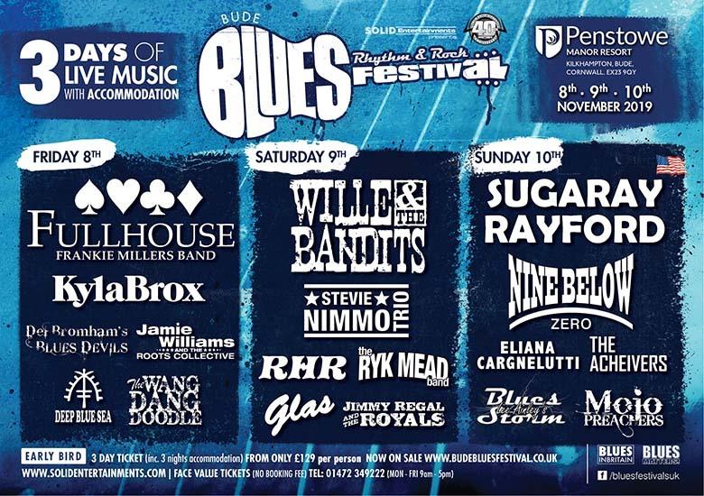 Bude Blues, Rhythm and Rock Festival