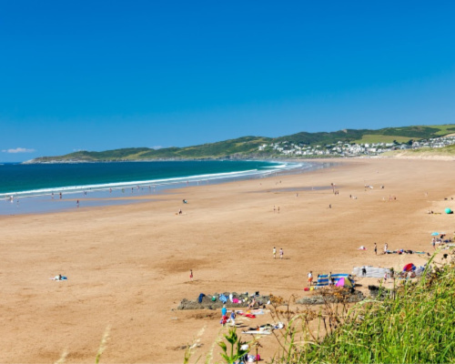 Putsborough Sands Beach