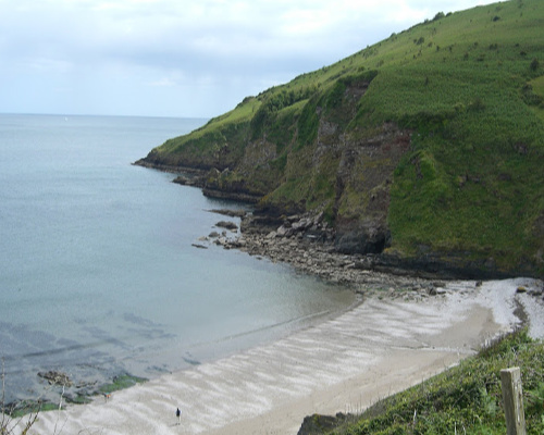 Scabbacombe Sands Beach