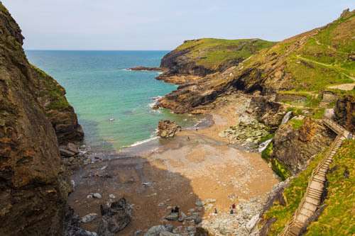 Tintagel Beach