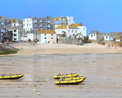 St Ives Harbour Beach