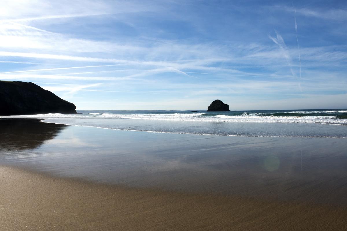 Image result for trebarwith strand
