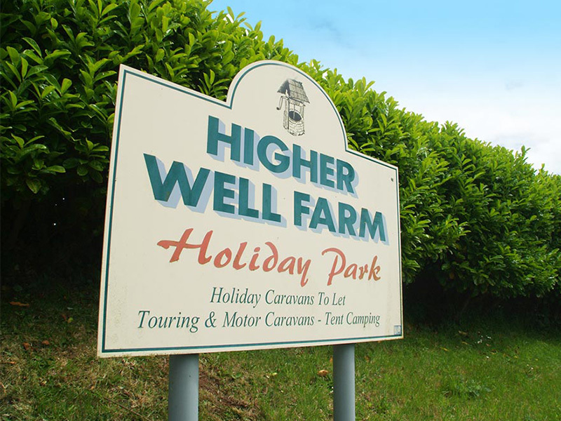 Higher Well Farm Holiday Park